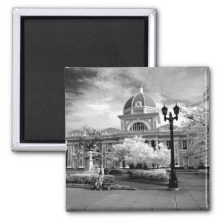 Infra Red ofParliament in Cienfuegos Cuba called Fridge Magnets