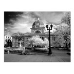 Infra Red ofParliament in Cienfuegos Cuba called Postcard