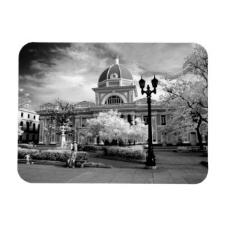 Infra Red ofParliament in Cienfuegos Cuba called Vinyl Magnet