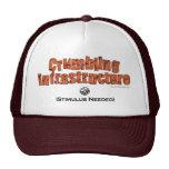Infraestructura que desmenuza… gorras de camionero