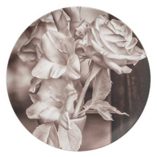 Infrared Bouquet Plate