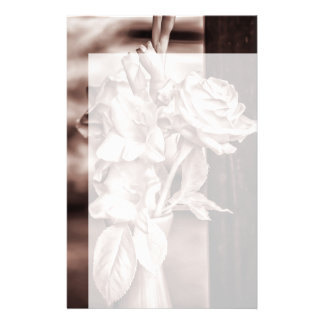 Infrared Bouquet Stationery