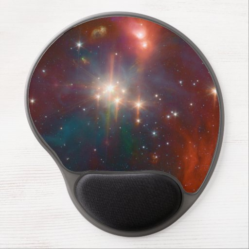 Infrared Coronet Gel Mouse Pad