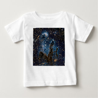 Infrared Eagle Nebula Pillars of Creation Baby T-Shirt