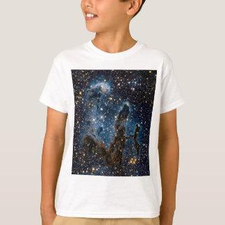 Infrared Eagle Nebula Pillars of Creation T-Shirt
