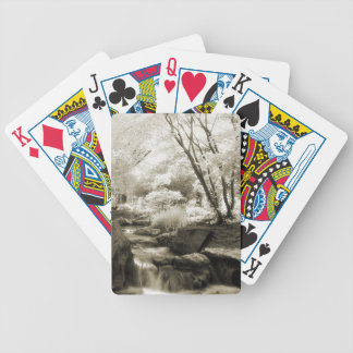 Infrared English Garden Playing Cards