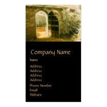 Infrared Fairy Garden Door Business Card