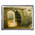 Infrared Fairy Garden Door iPad Covers