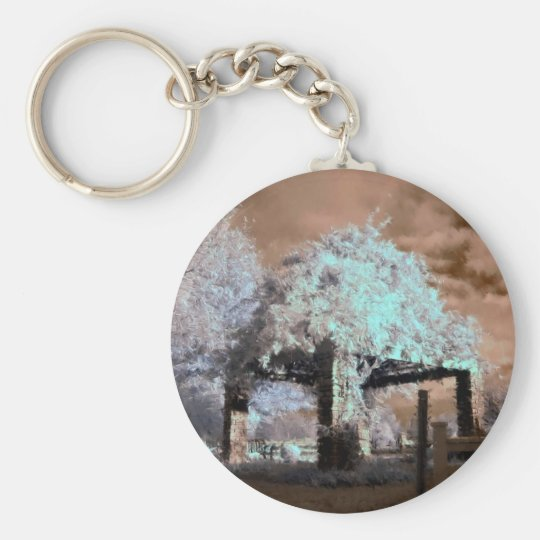 Infrared Gazebo Keychain