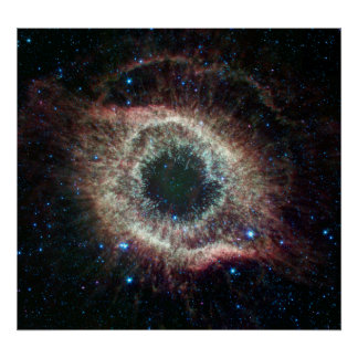Infrared Helix Nebula Poster