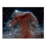 Infrared Horsehead Nebula Post Card