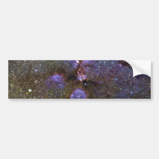 Infrared Image of the Cat's Paw Nebula NGC 6334 Bumper Sticker