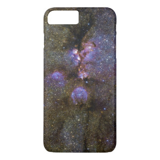 Infrared Image of the Cat's Paw Nebula NGC 6334 iPhone 7 Plus Case