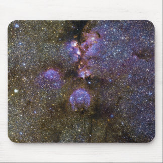 Infrared Image of the Cat's Paw Nebula NGC 6334 Mouse Pad
