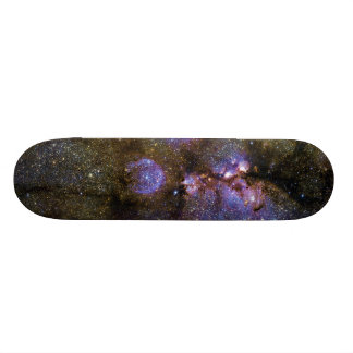 Infrared Image of the Cat's Paw Nebula NGC 6334 Skateboard Deck