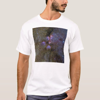 Infrared Image of the Cat's Paw Nebula NGC 6334 T-Shirt