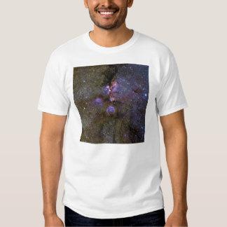 Infrared Image of the Cat's Paw Nebula NGC 6334 Tee Shirt