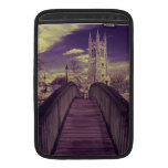Infrared landscape Bridge and Church Sleeves For MacBook Air