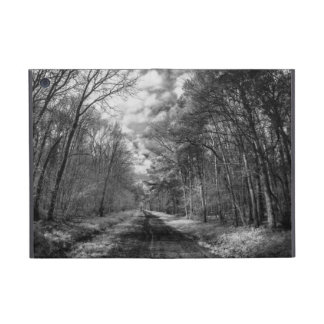 Infrared Landscape path through woods Case For iPad Mini