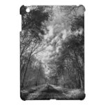 Infrared Landscape path through woods iPad Mini Case