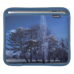 Infrared Landscape - Trees in a Park iPad Sleeves