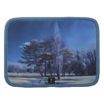 Infrared Landscape - Trees in a Park Folio Planners