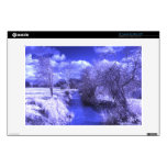 """Infrared landscape with stream 13"""" laptop skins"""