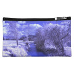 Infrared landscape with stream cosmetics bags