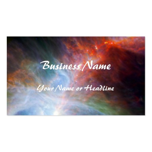 Infrared Light in the Orion Nebula Business Card