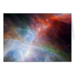 Infrared Light in the Orion Nebula Cards