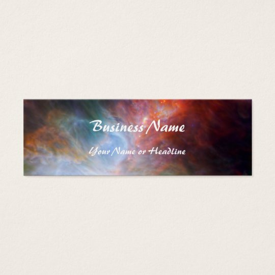 Infrared Light in the Orion Nebula Mini Business Card