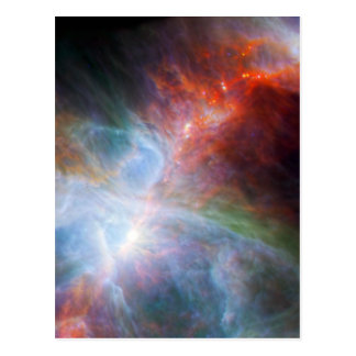 Infrared Light in the Orion Nebula Postcards