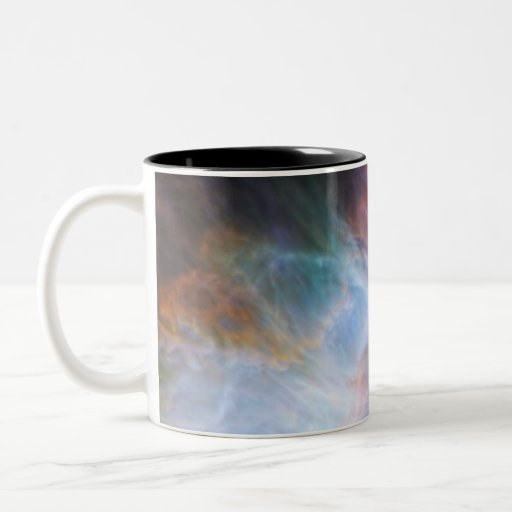 Infrared Light in the Orion Nebula Two-Tone Coffee Mug
