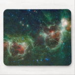 Infrared mosaic of the Heart and Soul nebulae Mouse Pad