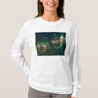 Infrared mosaic of the Heart and Soul nebulae T-Shirt