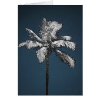 Infrared Palm Greeting Card