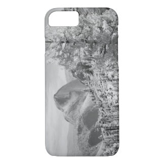 Infrared photo in East side of Yosemite National 2 iPhone 8/7 Case