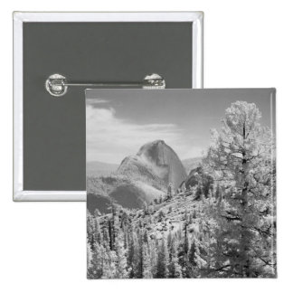 Infrared photo in East side of Yosemite National 2 Pinback Button