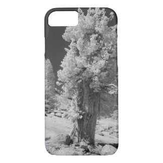 Infrared photo in East side of Yosemite National iPhone 8/7 Case