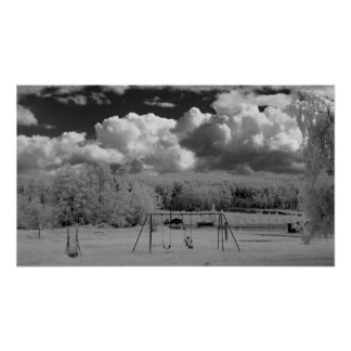 Infrared Playground in Canada Poster