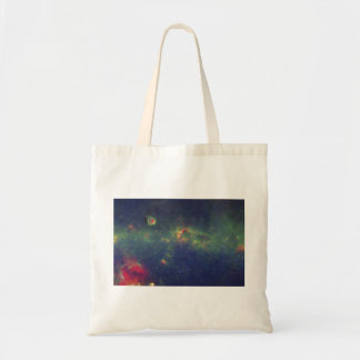 Infrared Portrait of the Inner Milky Way Galaxy Canvas Bag