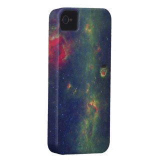 Infrared Portrait of the Inner Milky Way Galaxy iPhone 4 Case
