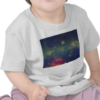 Infrared Portrait of the Inner Milky Way Galaxy Tshirts