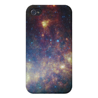 Infrared portrait revealing the stars and dust iPhone 4 cover