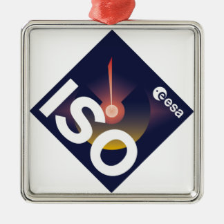 Infrared Space Observatory (ISO) Metal Ornament