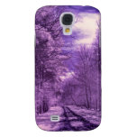 Infrared track through the woods galaxy s4 cases