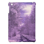 Infrared track through the woods iPad mini cases