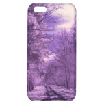Infrared track through the woods iPhone 5C covers