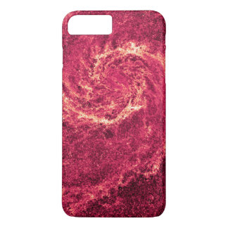 Infrared Whirlpool Galaxy Messier 51a NGC 5194 iPhone 8 Plus/7 Plus Case