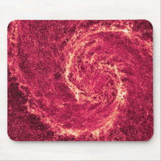 Infrared Whirlpool Galaxy Messier 51a NGC 5194 Mouse Pad